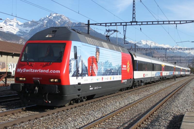 SBB 460 036-7  ROCO  3 rails AC 31688920110212103300R2Middle