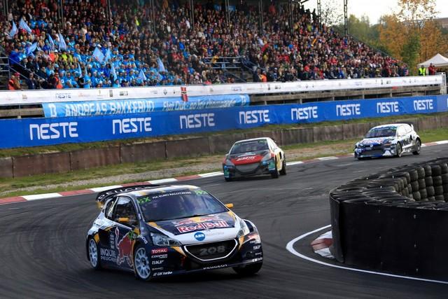 Rallycross - Sébastien Loeb remporte sa première victoire au volant de la PEUGEOT 208 WRX ! 318912wrx201610010219