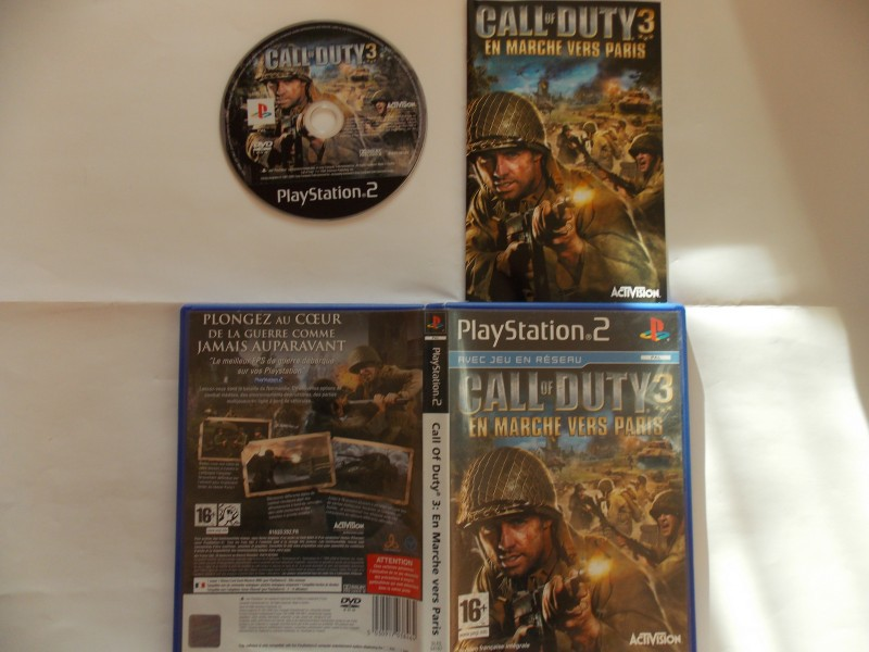 Call of Duty 3 : En route vers Paris 320194Playstation2CallofDuty3enrouteversParis