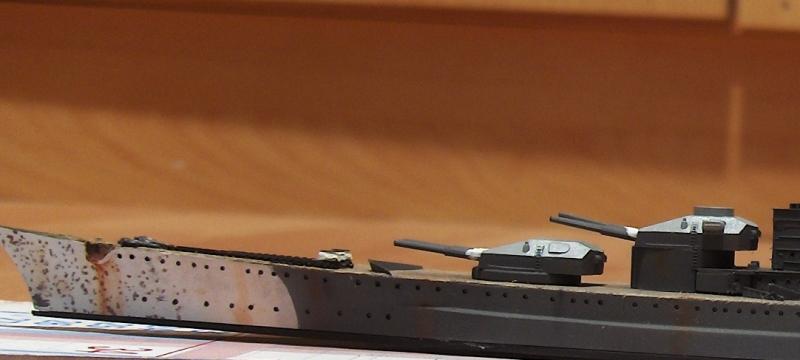 Scharnhorst 1/700  [Tamiya] par Flash 320364HPIM2223