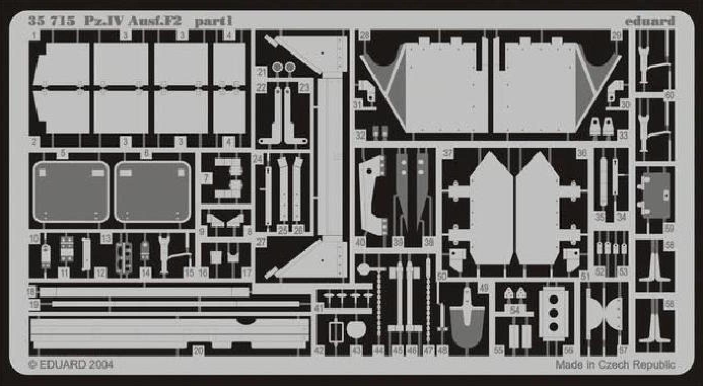 PzKpfw. IV Ausf. F2 - Dragon 320889maquettepzivausff2dragon135eduard35715