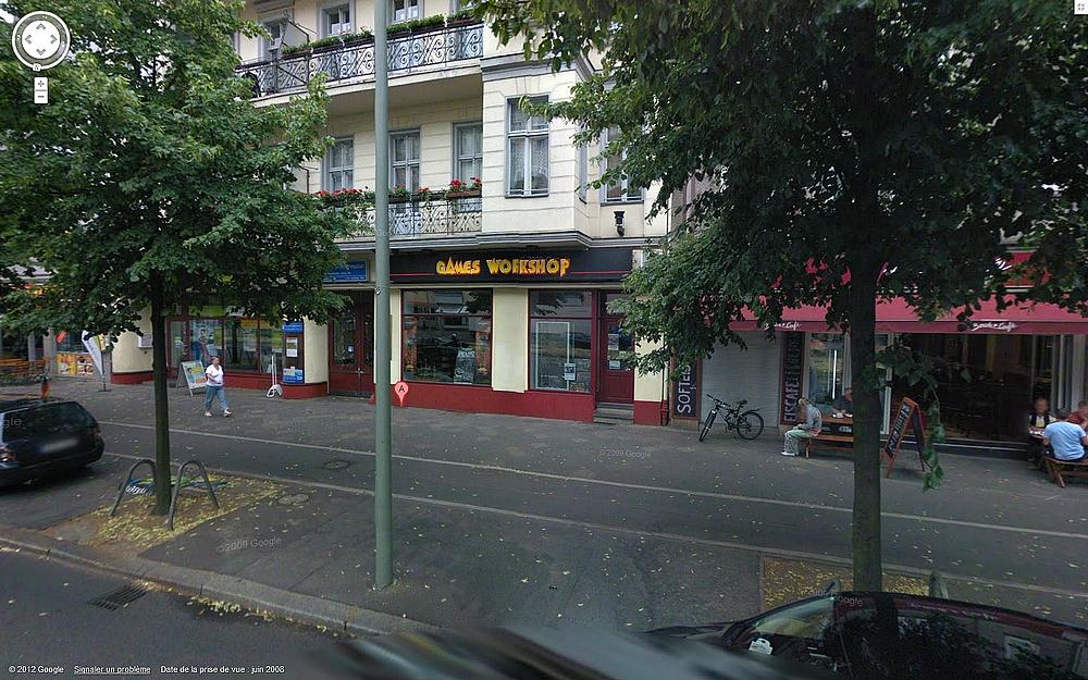 Les Centres Hobby Games Workshop en France et à travers le monde 321011CHGWberlin