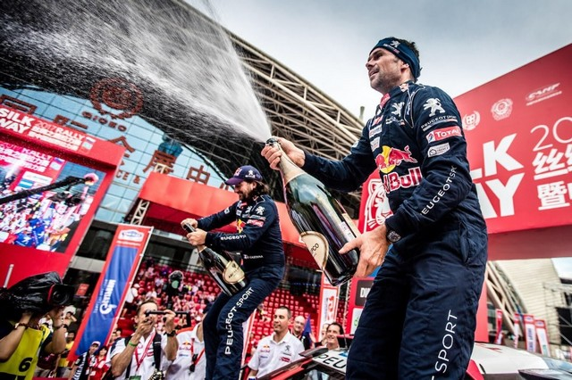 Peugeot Triomphe Pour La Deuxième Année Consécutive Sur Le Silk Way Rally 321350finalpodium