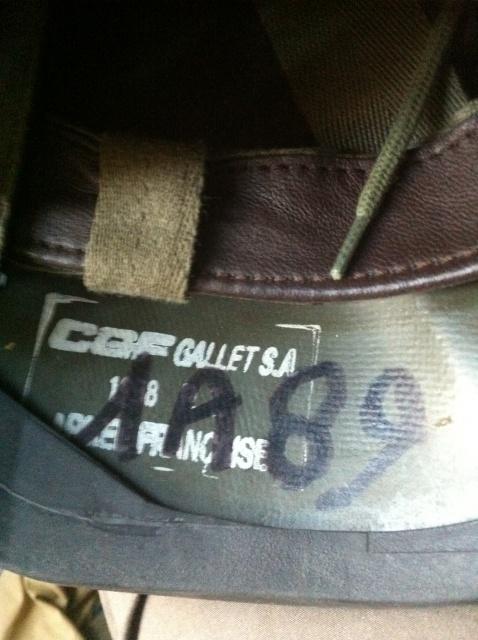 Ma petite collec de casques français 321569casqueSPECTRA