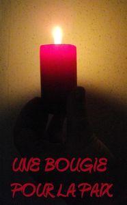 """""""Apportons notre lumière pour la paix dans le monde"""" 32202734754620"""