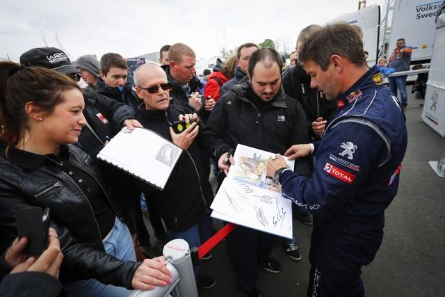 Rallycross - Belle deuxième place de Sébastien Loeb sur la PEUGEOT 208 WRX 32365702A3986