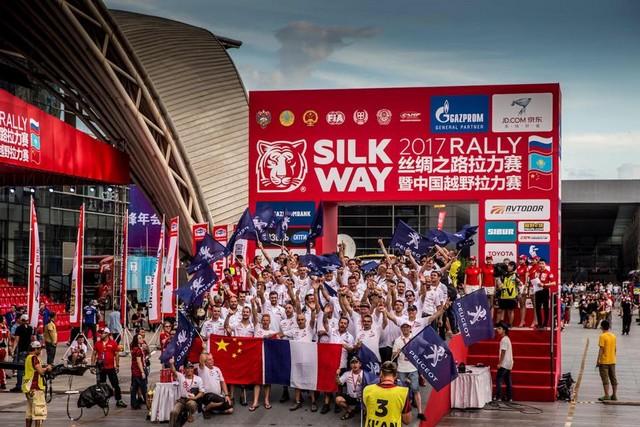 Peugeot Triomphe Pour La Deuxième Année Consécutive Sur Le Silk Way Rally 32488520108146