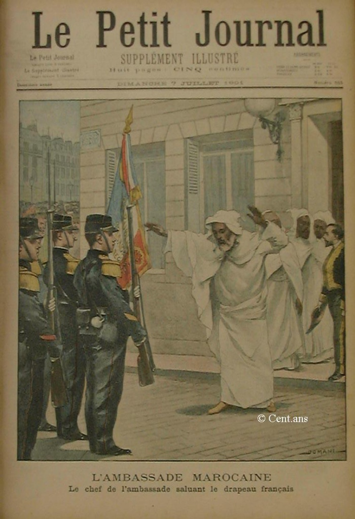 صفحات من تاريخ المغرب الحديث من خلال Le Petit journal illustré - صفحة 3 325507pj55507071901