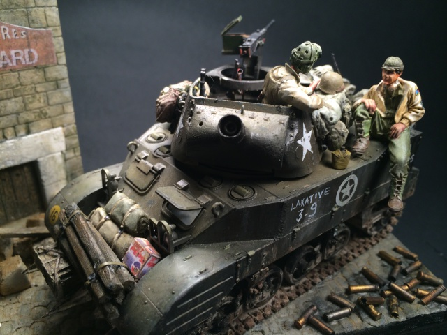 M8 howitzer motor carriage (Tamiya 1/35) unité Hell on Wheels, France 44 325539IMG3488