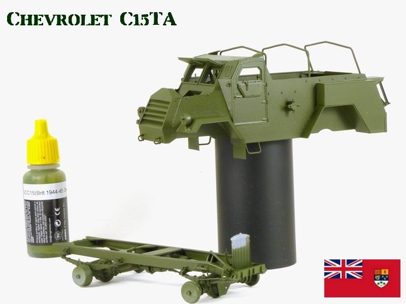 CHEVROLET C15TA - Normandie 44 - IBG 1/35 329505P1040540