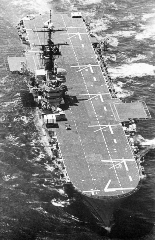 LANDING PLATFORM HELICOPTER (LPH) CLASSE IWO JIMA 330097USSGuadalcanalLPH7mai1977