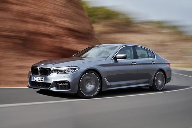 La nouvelle BMW Série 5 Berline. Plus légère, plus dynamique, plus sobre et entièrement interconnectée 332249P90237242highResthenewbmw5series