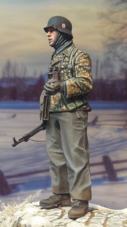 "Figurine ""Alpine miniature"" LAH Grenadier 1/35ème 332554LAH35097Left"