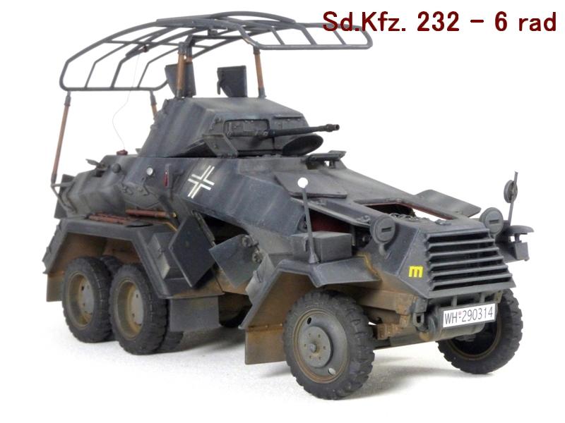 Sd.Kfz. 232 6 Rad - France 1940 - Italeri 1/35 332826P1040091