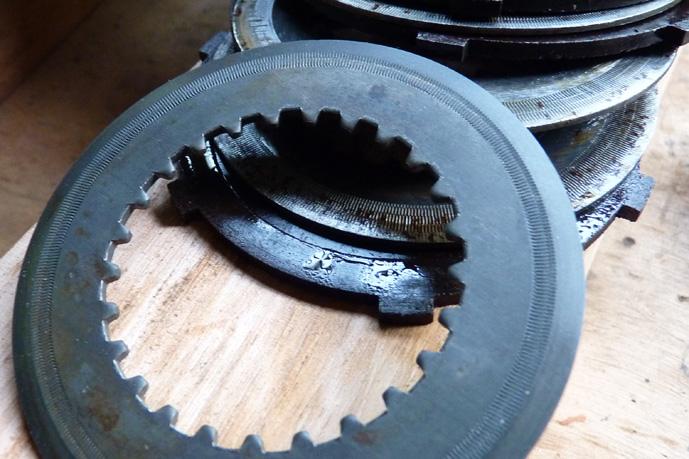 remontage d'un bas moteur d'une 125 TS 335221P1060231