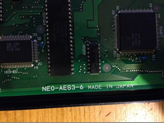 RGB Fix pour console AES: améliorer l'image de son AES 3-6 335359IMG1625