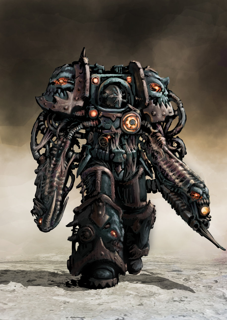 [W40K] Collection d'images : Space Marines du Chaos 336067ChaosRising4