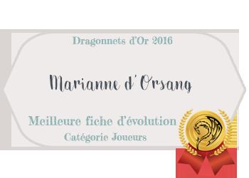 Marianne d'Orsang ☸ Au fil des aventures  337850Joueursmeilleurefichedevolution