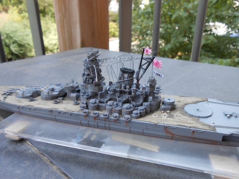 Yamato 1/700 fuji, PE,Pont en bois et babioles - Page 4 338375DSCN6173