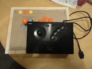 [WIP] Fabrication stick arcade compatible Neo Geo, XBOX360 et PC  339257Etape52