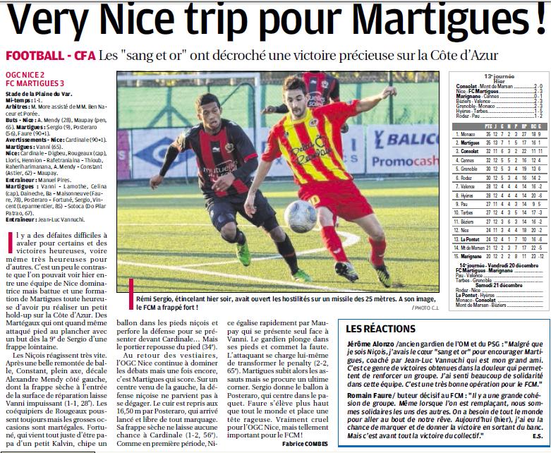 FC MARTIGUES // CFA GROUPE C CLUB et VILLE  340153826a