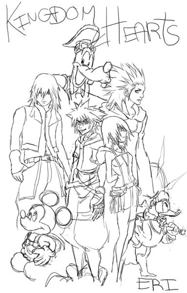 Kingdom Hearts 3 El Museo de Arte Moderno 340951Artwork