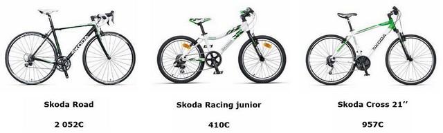 ŠKODA commercialise en France sa gamme de vélos 341026SKODAgammevelos