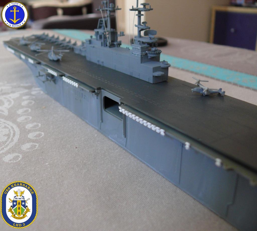 USS KEARSARGE LHD-3 1/700 REVELL 342517Kearsarge24