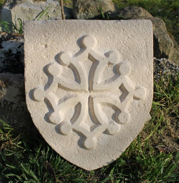 Croix occitane ( en blason ) 342520IMG2253bis