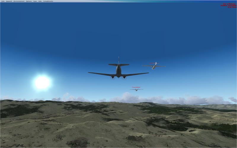 Vol en formation en Afrique (DC3) 3438472013222205425297