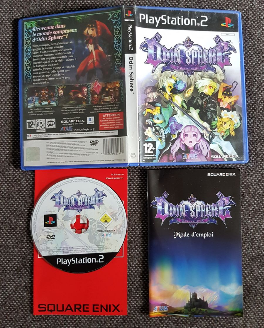 [VDS] Bazar Sony PS1 PS2 PS3 344968OdinSphere