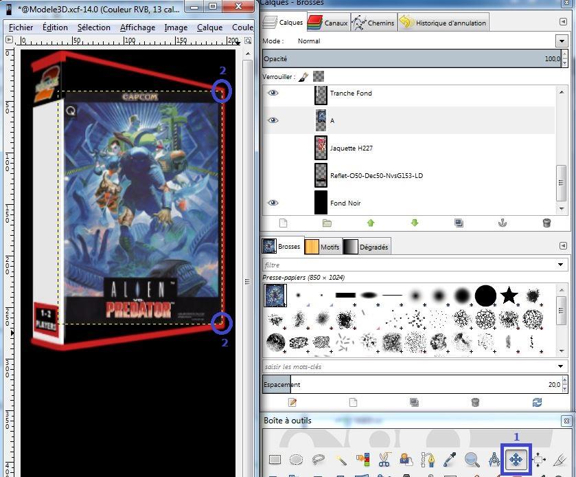 [Tutorial] Création d'icones 3D pour la Neo Geo X 345745Capture1