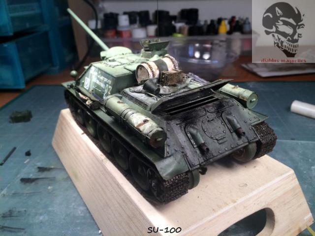 SU-100 marque Dragon 1/35 - Page 2 347092IMG3909
