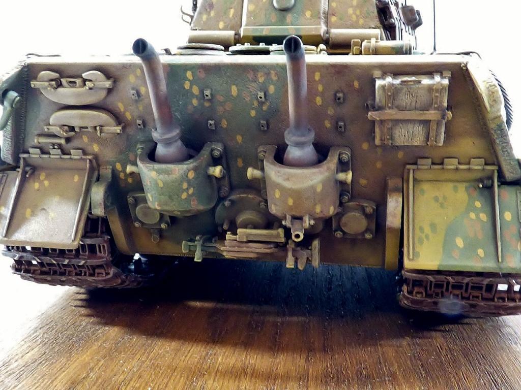 tiger - King Tiger Sd.Kfz.182 Henschel Turret Takom 1/35 349117P1060510Copier