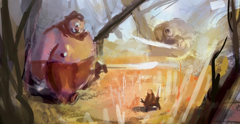 Blop is painting - LE RETOUR SANS CONCESSIONS 350373dinnerwithtwo