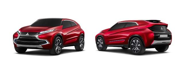 Mitsubishi présente ses trois concepts 352643lineupcar02main
