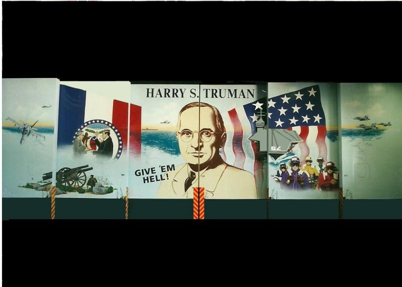CVN 75 Truman 1/350 Trumpeter - Page 3 355478portehangaraimprimer