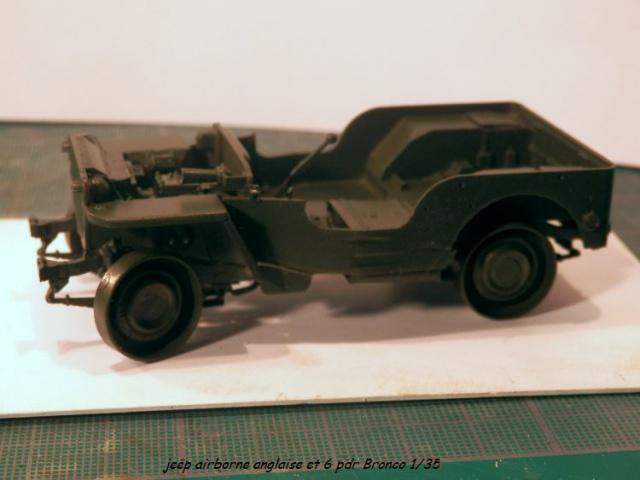 jeep indochine - 6 pdr ,jeep ,équipage airborne Bronco 1/35 (sur la route de Ouistreham) 355671P5020089