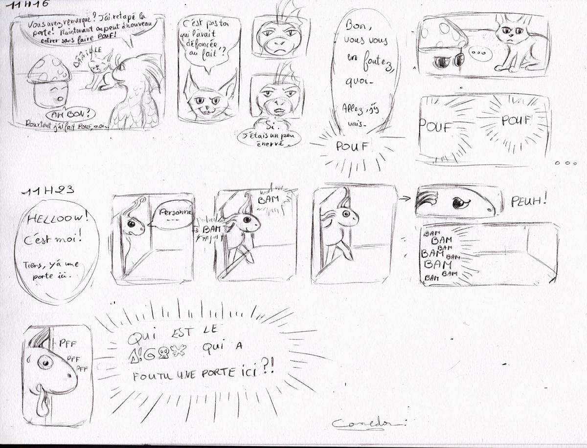 Dragons, chimères et créatures arc-en-ciel - Page 4 355696BDENlaporte