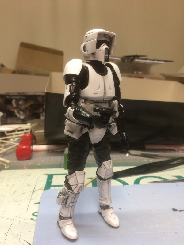 SCOUT TROOPER et SPEEDER BIKE 356184IMG0312