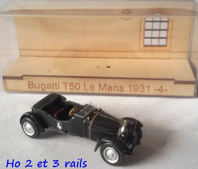 """Wagon porte autos Bugatti """"M. Fritz Schlumpf"""" 357413carbamodelBugattiT50LeMans1931Handarbeit187R"""