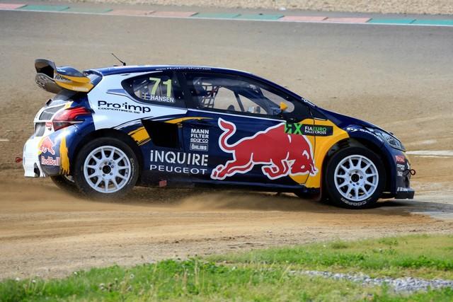 Rallycross - Belle deuxième place de Sébastien Loeb sur la PEUGEOT 208 WRX 357907WRX20160514PGT0018