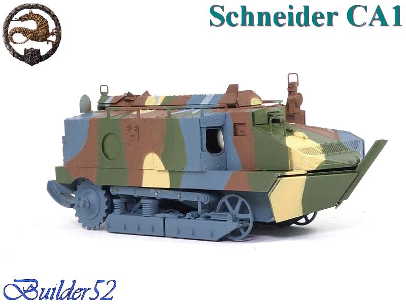 CHAR SCHNEIDER CA 1 - HOBBY BOSS 1/35 358264P1040947