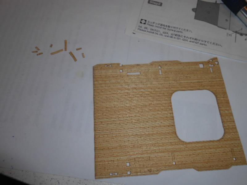 PA AKAGI 1/350 de chez Hasegawa PE + pont en bois par Lionel45 - Page 5 358501akA004