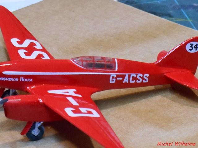DE HAVILLAND D H88 kit Airfix 1959 359770DSCN9416Copier