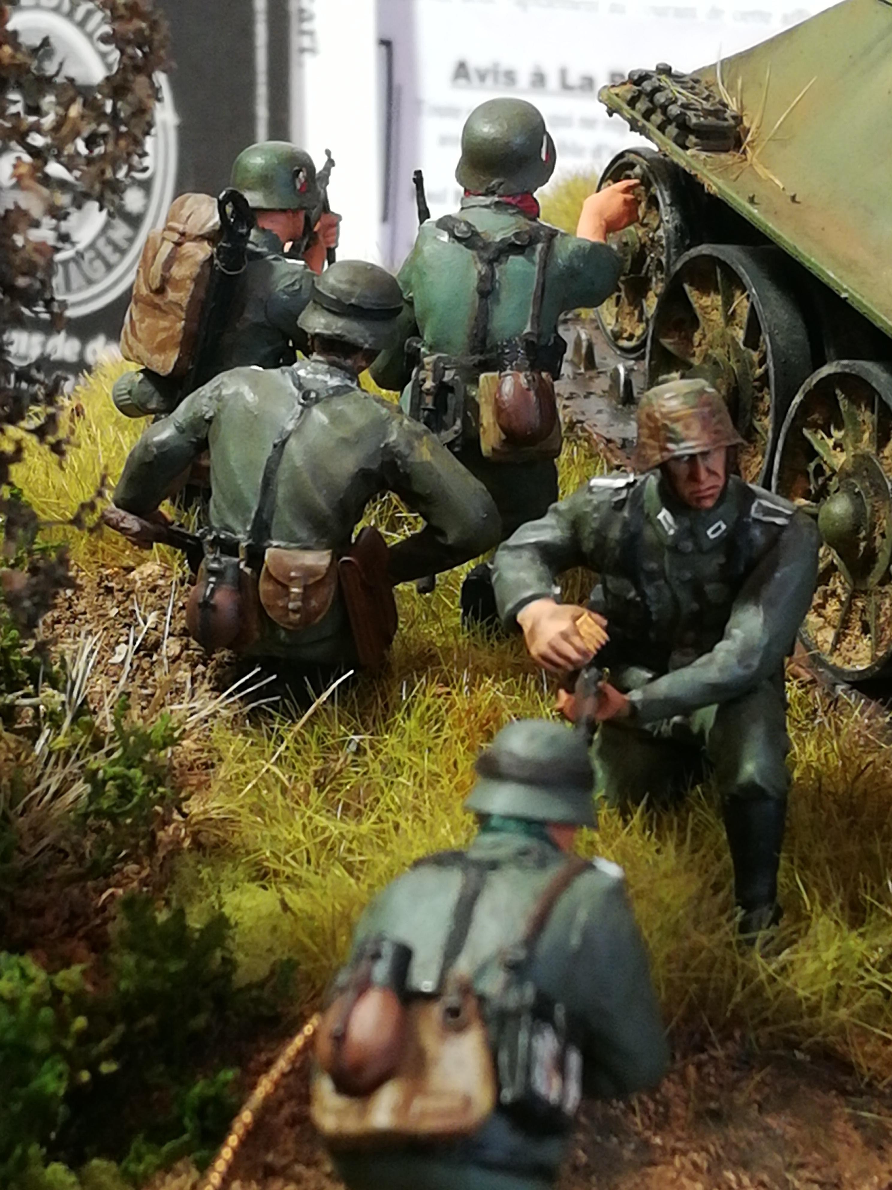 Front de l'Est, 1942 - T34 et Wehrmacht - Zvezda - 1/35 - Page 2 359883IMG20171219141356