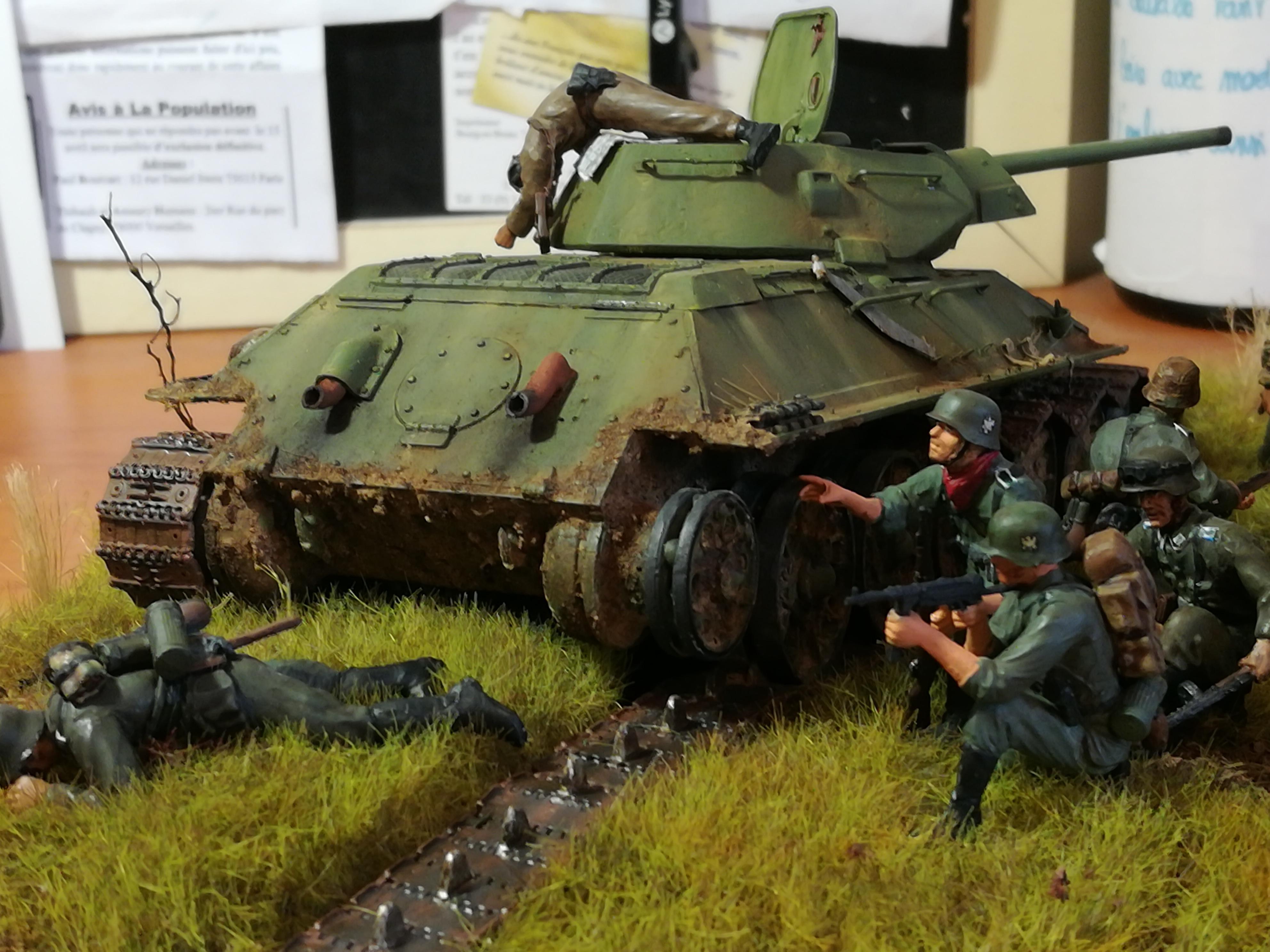 Front de l'Est, 1942 - T34 et Wehrmacht - Zvezda - 1/35 - Page 2 360444IMG20171219141225