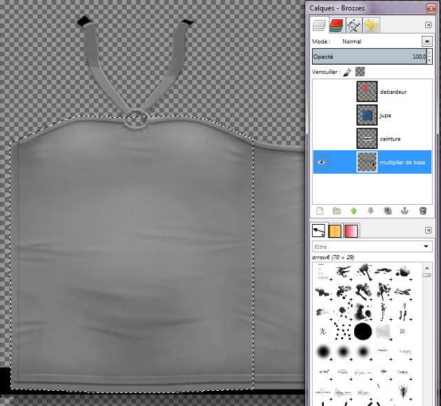 [Débutant] Créez vos vêtements - Partie III - The Gimp 360586photo9