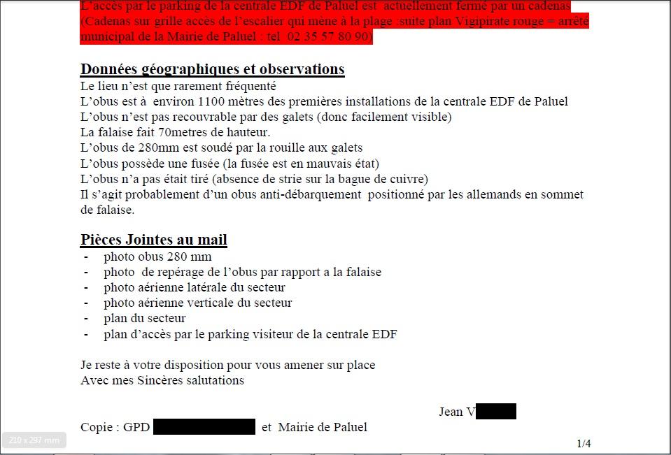 DECOUVERTES D'ENGINS DE GUERRE - ATTENTION !!! 36254680b