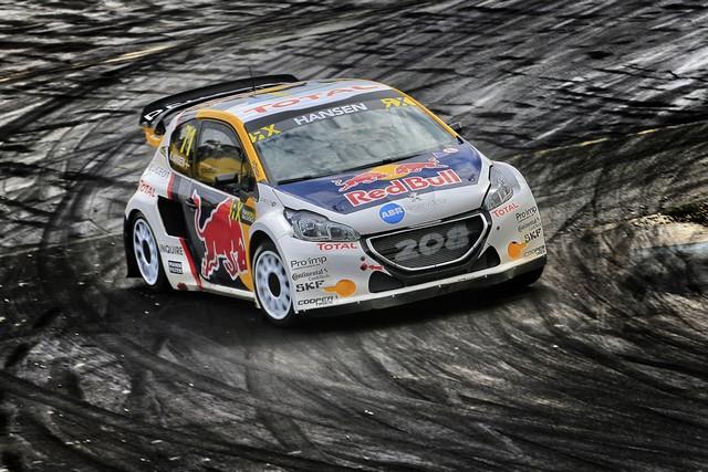 Rallycross - Les PEUGEOT 208 WRX dans le match, Timmy Hansen sur le podium à Hockenheim 364096590ecdeb40a5e